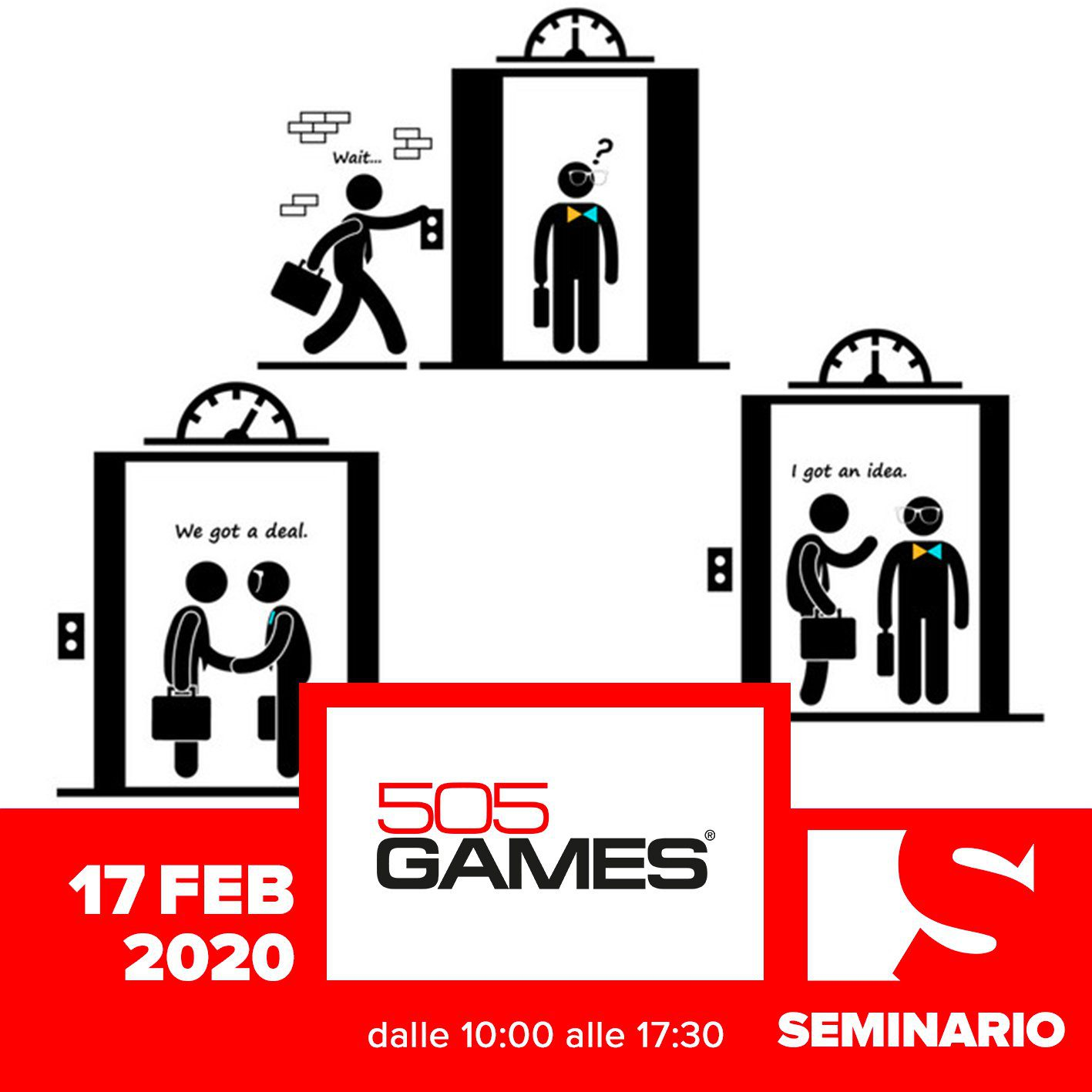 SEMINARIO – GIOVANNA VILLANI How to pitch your game