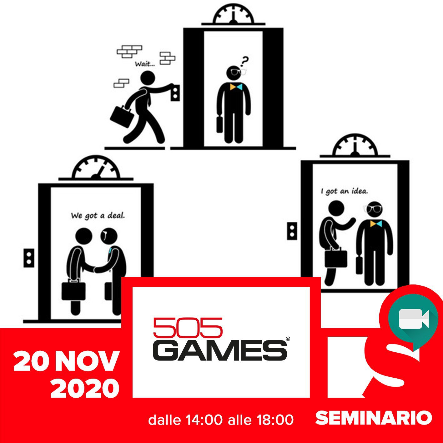 SEMINARIO – GIOVANNA VILLANI<br> How to pitch your game